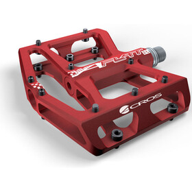 ACROS A-Flat XL Pedale rot